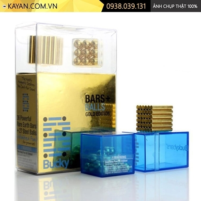 Kayan - Bộ nam châm xếp hình Buckybars màu vàng
