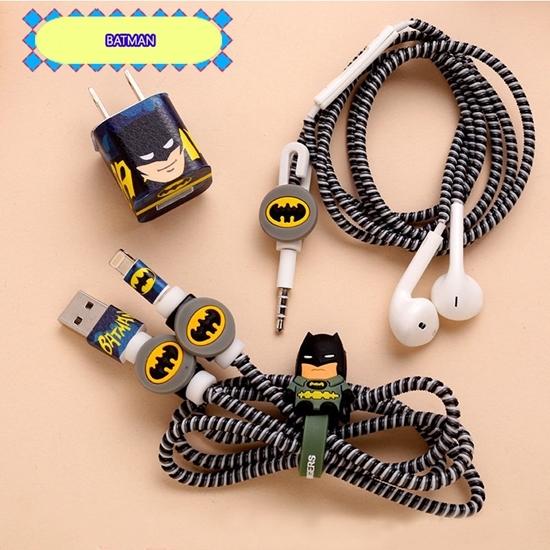 KAYAN - Combo 5 món bảo vệ dây sạc và dây tai nghe iphone