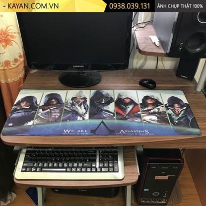 Kayan - Lót chuột cỡ lớn Assasin's Creed 80x30x0.3