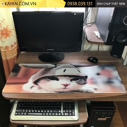 Kayan - Lót chuột cỡ lớn Mèo con 80x30x0.3