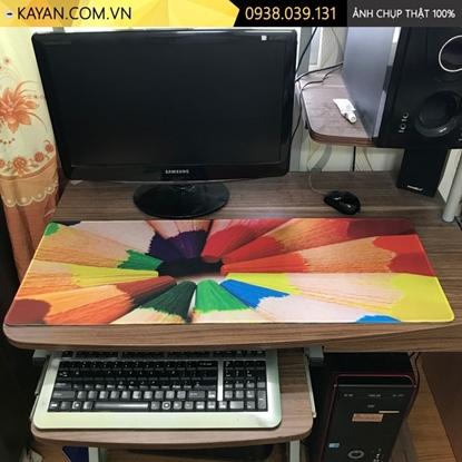Kayan - Lót chuột cỡ lớn Sắc Màu 80x30x0.3