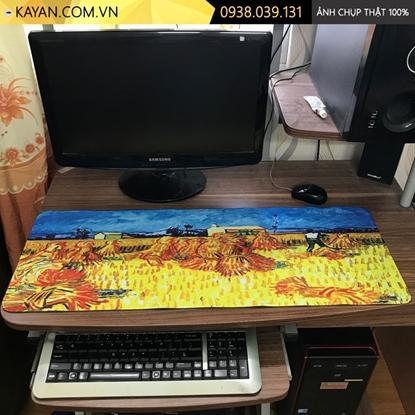 Kayan - Lót chuột cỡ lớn Tranh Sơn Dầu 80x30x0.3