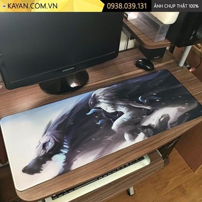 Kayan - Lót chuột game cỡ lớn Liên Minh Huyền Thoại 80x30x0.3