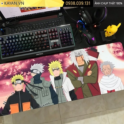 Kayan - Lót chuột anime cỡ lớn Naruto 80x30x0.3