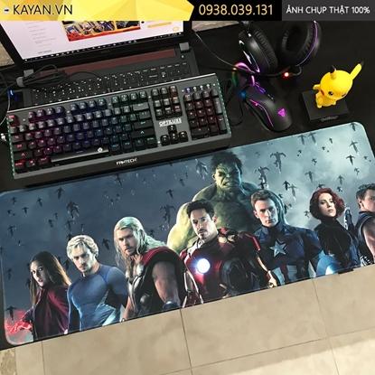 Kayan - Lót chuột cỡ lớn biệt đội siêu anh hùng Avengers 80x30x0.3