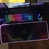 Lót chuột cỡ lớn Razer mẫu 1 - LED RGB - size 80x30x0.4cm - sao chép - sao chép