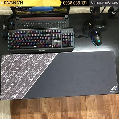 Kayan - Lót chuột các thương hiệu Gaming brand cỡ lớn 80x30x0.3