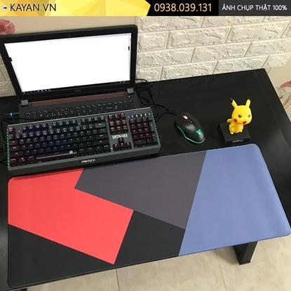 Kayan - Lót chuột cỡ lớn Flat Design - Thiết kế phẳng - 80x30x0.3cm