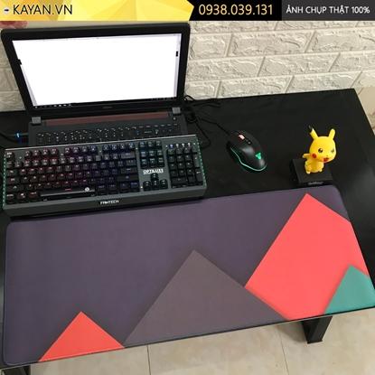 Kayan - Lót chuột cỡ lớn Thiết kế phẳng - Flat Design 80x30x0.3