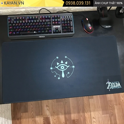 Kayan - lót chuột cỡ lớn The Legend of Zelda: Breath of the Wild - 80x40x0.3cm
