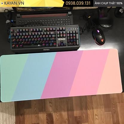 Kayan - Lót chuột cỡ lớn Flat Design - Thiết kế phẳng - 80x30x0.4cm