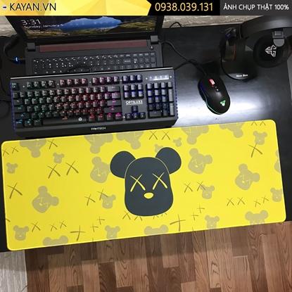 Kayan - Lót chuột cỡ lớn Bearbrick 80x30x0.3