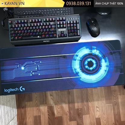 Kayan - Lót chuột các thương hiệu Gaming brand cỡ lớn Logitech 80x30x0.3