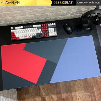 Kayan - Lót chuột cỡ lớn Flat Design - Thiết kế phẳng - 90x40x0.3cm