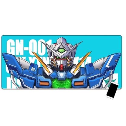 Kayan - Lót chuột anime cỡ lớn GUNDAM 90x40x0.3