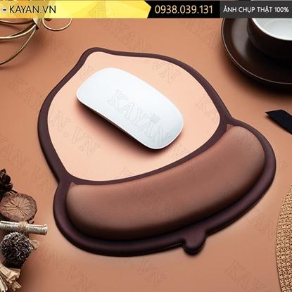 Kayan - Lót chuột 3D đệm silicon Quả thông