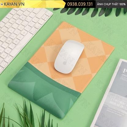 Kayan - Lót chuột 3D đệm silicon Trái thơm