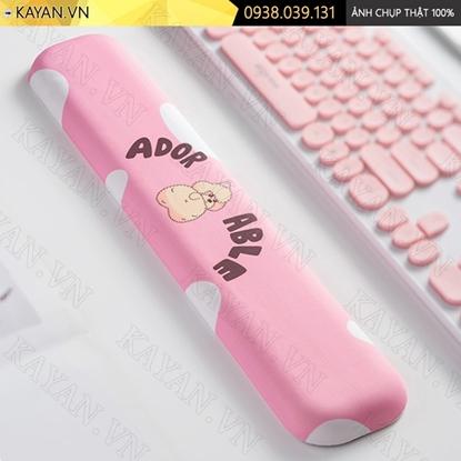 Kayan - Kê tay bàn phím đệm silicon POODLE
