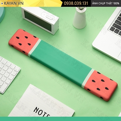 Kayan - Kê tay bàn phím đệm silicon Dưa hấu