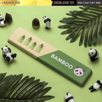 Kayan - Kê tay bàn phím đệm silicon Gấu trúc Bamboo