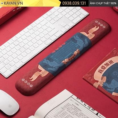 Kayan - Kê tay bàn phím đệm silicon I Love My Job
