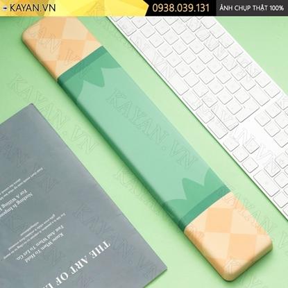 Kayan - Kê tay bàn phím đệm silicon Trái thơm