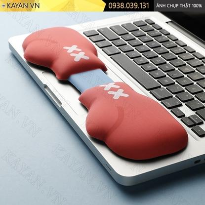 Kayan - Kê tay bàn phím đệm silicon Găng tay boxing